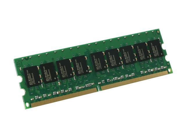 Kingston ValueRAM 1GB 240-Pin DDR2 SDRAM ECC Unbuffered DDR2 667 (PC2 5300) Server Memory Model KVR667D2E5/1G