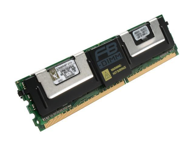 Kingston 4GB ECC Fully Buffered DDR2 667 (PC2 5300) Server Memory Model KVR667D2D4F5/4G