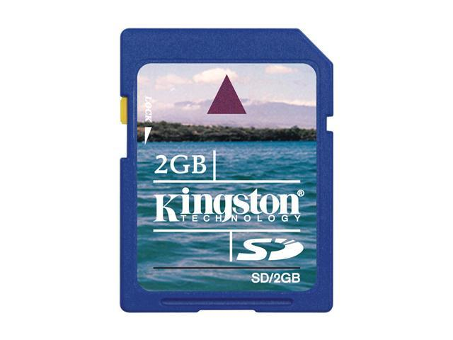 Kingston 2GB Secure Digital (SD) Flash Card Model SD/2GBKR