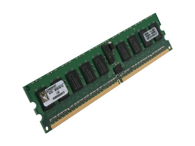Kingston 1GB 240-Pin DDR2 SDRAM DDR2 400 (PC2 3200) ECC Registered System Specific Memory Model KTD-WS670/1G