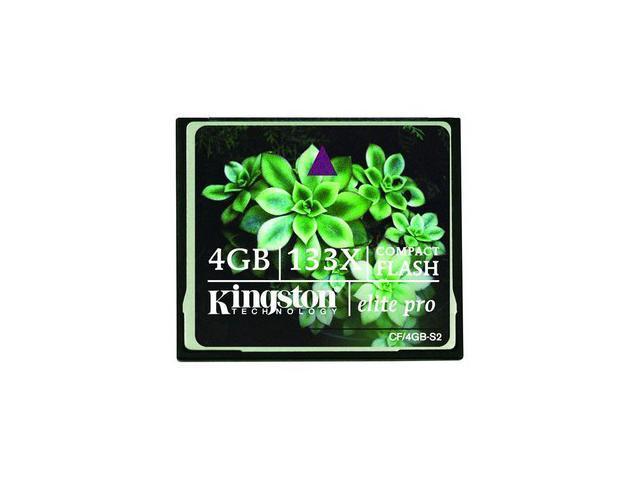 Kingston Elite Pro 4GB Compact Flash (CF) Flash Card Model CF/4GB-S2