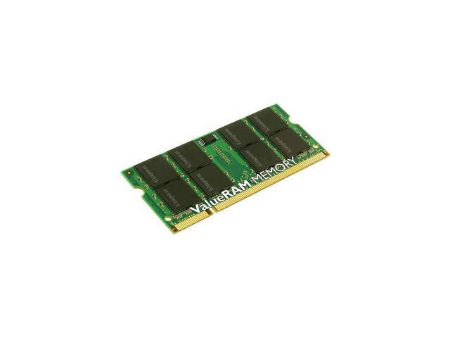 Kingston ValueRAM 4GB (2 x 2GB) 200-Pin DDR2 SO-DIMM DDR2 667 (PC2 5300) Dual Channel Kit Laptop Memory Model KVR667D2K2SO/4GR