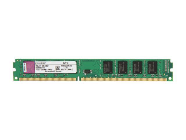 Kingston 2GB 240-Pin DDR3 SDRAM DDR3 1066 (PC3 8500) Desktop Memory Model KVR1066D3N7/2G