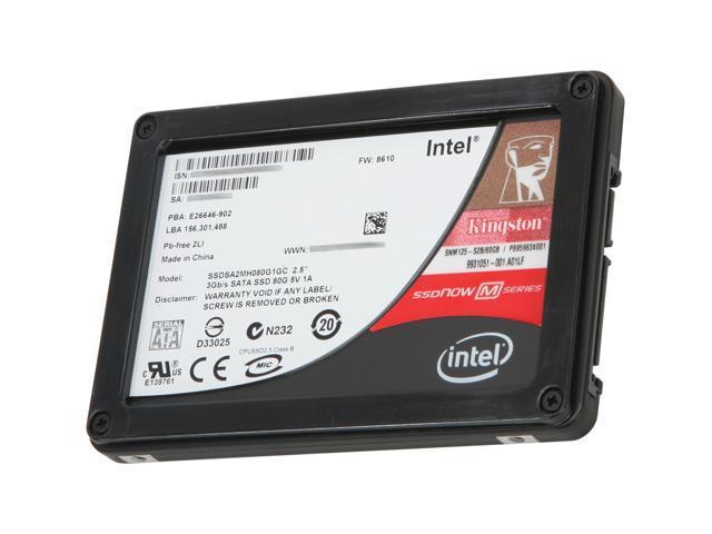 Kingston SSDNow M Series SNM125-S2B/80GB 2.5