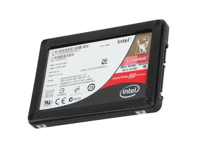 "Kingston SSDNow M Series 2.5"" 160GB SATA II MLC Internal Solid State Drive (SSD) SNM125-S2B/160GB"
