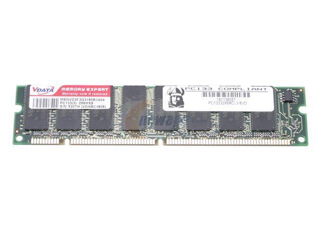VIKING 256MB 168-Pin SDRAM PC 133 Desktop Memory Model VI8AU326438CTE01