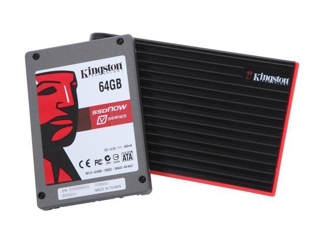"Kingston SSDNow V Series 2.5"" 64GB SATA II MLC Internal Solid State Drive (SSD) SNV125-S2BN/64GB"