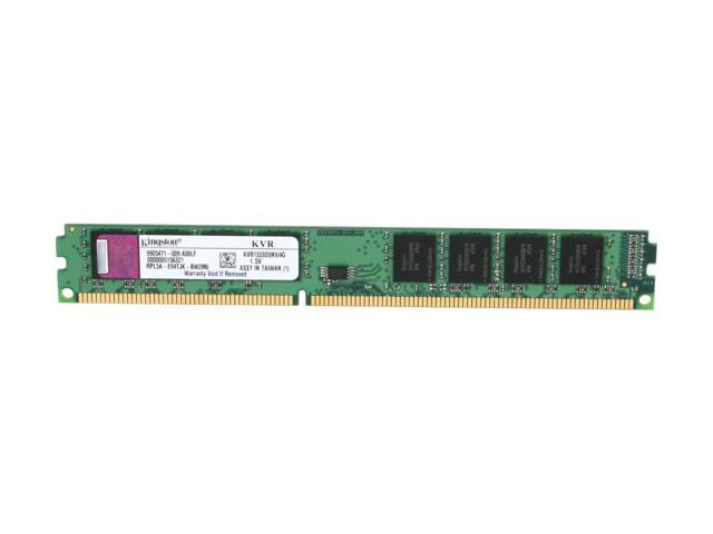 Kingston 4GB 240-Pin DDR3 SDRAM DDR3 1333 (PC3 10600) Desktop Memory Model KVR1333D3N9/4G