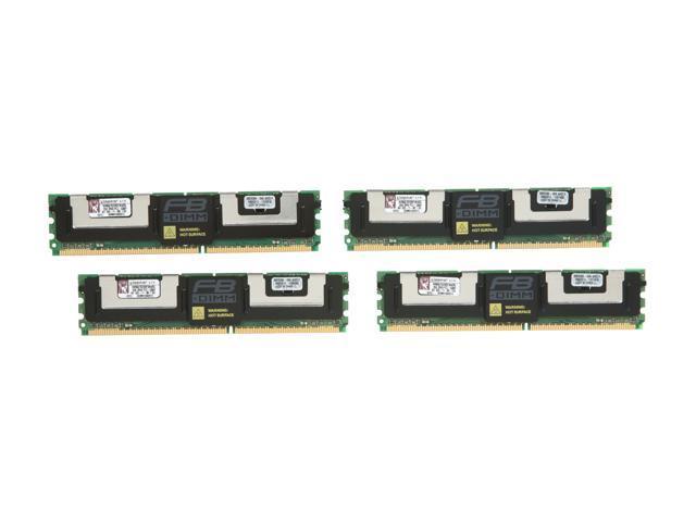 Kingston ValueRAM 8GB (4 x 2GB) ECC Fully Buffered DDR2 667 Server Memory Model KVR667D2D8F5K4/8G