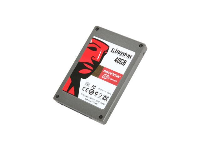 "Kingston SSDNow V Series 2.5"" 40GB SATA II MLC Internal Solid State Drive (SSD) SNV125-S2/40GB"