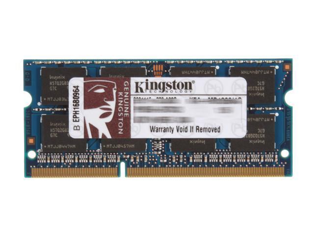 Kingston 4GB 204-Pin DDR3 SO-DIMM DDR3 1066 Memory for Apple Model KTA-MB1066/4G