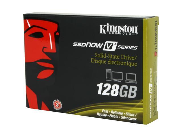 "Kingston SSDNow V+ Series 2.5"" 128GB SATA II MLC Internal Solid State Drive (SSD) SNVP325-S2/128GB"