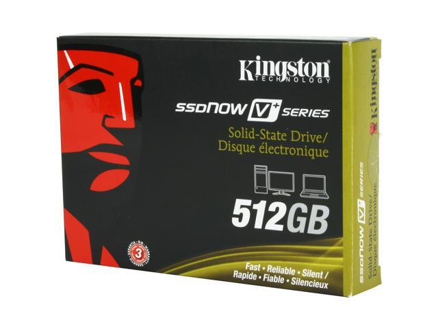 "Kingston SSDNow V+ Series 2.5"" 512GB SATA II MLC Internal Solid State Drive (SSD) SNVP325-S2/512GB"