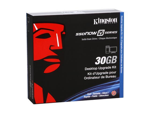 "Kingston SSDNow V Series 2.5"" 30GB SATA II Internal Solid State Drive (SSD) SNV125-S2BD/30GB"