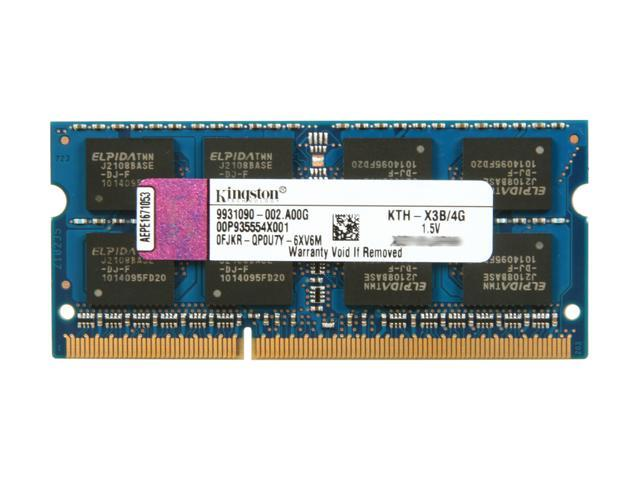 Kingston 4GB 204-Pin DDR3 SO-DIMM System Specific Memory for HP/Compaq