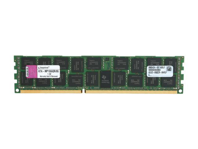 Kingston 8GB DDR3 1066 (PC3 8500) ECC Registered Memory for Apple Server with Thermal Sensor Model KTA-MP1066QR/8G