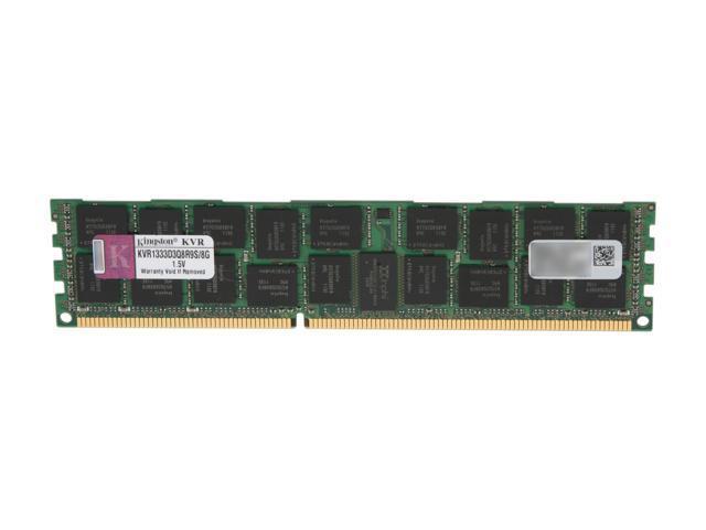 Kingston 8GB 240-Pin DDR3 SDRAM ECC Registered w/ Parity DDR3 1333 Server Memory Model KVR1333D3Q8R9S/8G