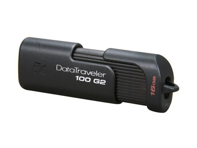 Kingston DataTraveler 100 Generation 2 16GB USB 2.0 Flash Drive Model DT100G2/16GBZ