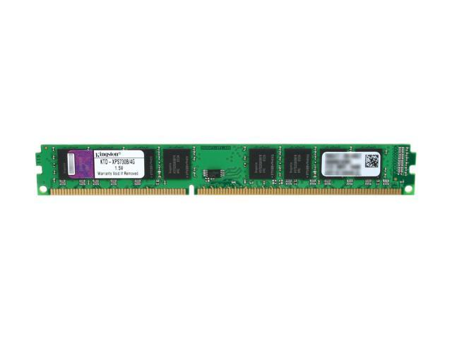 Kingston 4GB 240-Pin DDR3 SDRAM DDR3 1333 (PC3 10600) Unbuffered System Specific Memory Model KTD-XPS730B/4G
