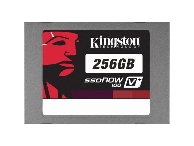 "Kingston SSDNow V+100 2.5"" 256GB SATA II MLC Internal Solid State Drive (SSD) SVP100S2/256G"