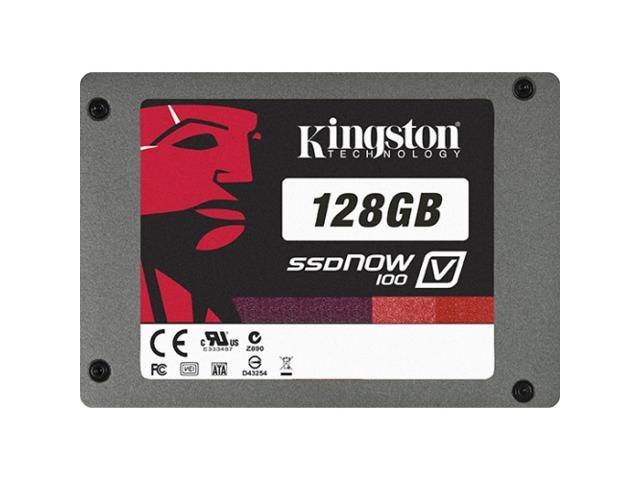 "Kingston SSDNow V100 2.5"" 128GB SATA II Internal Solid State Drive (SSD) SV100S2/128GZ"