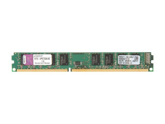 Kingston 4GB 240-Pin DDR3 SDRAM DDR3 1066 (PC3 8500) Unbuffered System Specific Memory Model KTD-XPS730A/4G