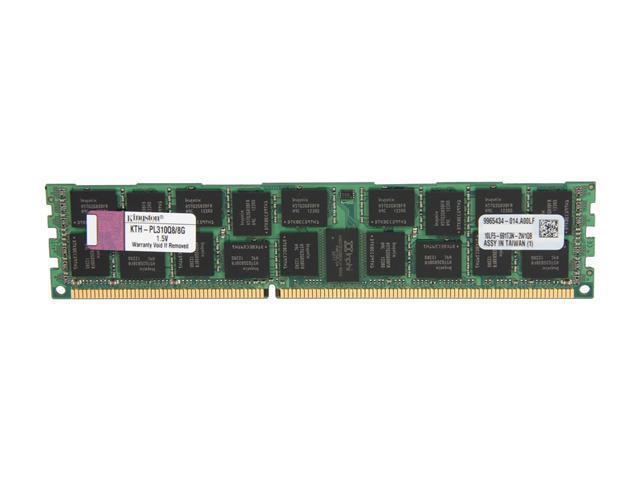 Kingston 8GB 240-Pin DDR3 SDRAM DDR3 1066 (PC3 8500) ECC Registered System Specific Memory Model KTH-PL310Q8/8G