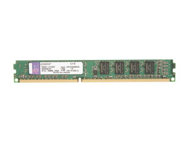 Kingston 2GB 240-Pin DDR3 SDRAM DDR3 1333 Desktop Memory Model KVR1333D3S8N9/2G