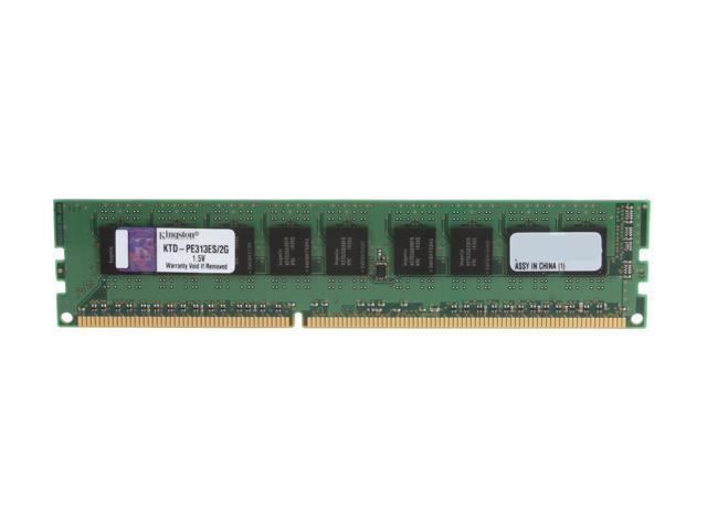 Kingston 2GB 240-Pin DDR3 SDRAM DDR3 1333 ECC System Specific Memory Model KTD-PE313ES/2G