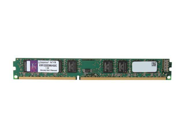 Kingston ValueRAM 4GB 240-Pin DDR3 SDRAM DDR3 1333 Desktop Memory Model KVR1333D3N9/4GKC