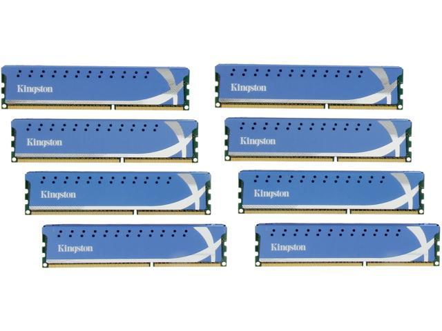 HyperX 32GB (8 x 4GB) 240-Pin DDR3 SDRAM DDR3 1600 (PC3 12800) Desktop Memory Model KHX1600C9D3K8/32GX