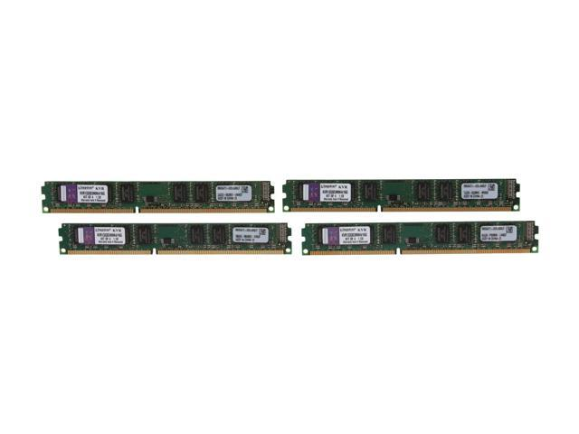 Kingston 16GB (4 x 4GB) 240-Pin DDR3 SDRAM DDR3 1333 Desktop Memory Model KVR1333D3N9K4/16G