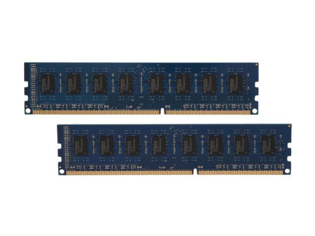 Kingston 8GB (2 x 4GB) 240-Pin DDR3 SDRAM DDR3 1333 Desktop Memory STD Height 30mm Model KVR1333D3N9HK2/8G