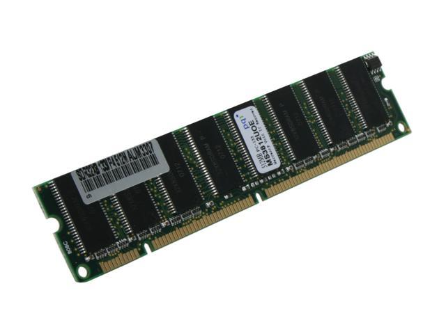 PQI 512MB 168-Pin SDRAM PC 133 Desktop Memory Model MS3812UOE