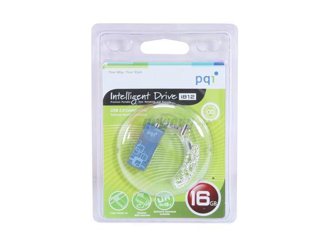 PQI i812 16GB USB2.0 Flash Drive (Blue)