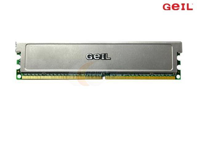 GeIL 1GB 240-Pin DDR2 SDRAM DDR2 667 (PC2 5300) Desktop Memory Model GX21GB5300PLXK=