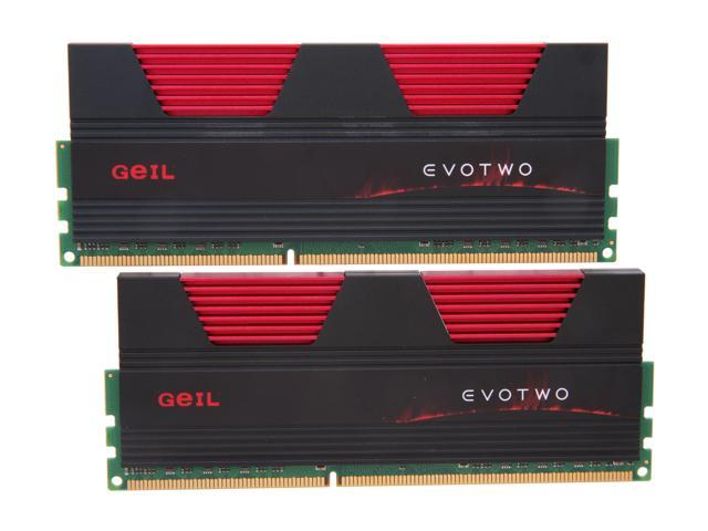 GeIL Evo Two 8GB (2 x 4GB) 240-Pin DDR3 SDRAM DDR3 1866 (PC3 14900) Desktop Memory Model GET38GB1866C9DC