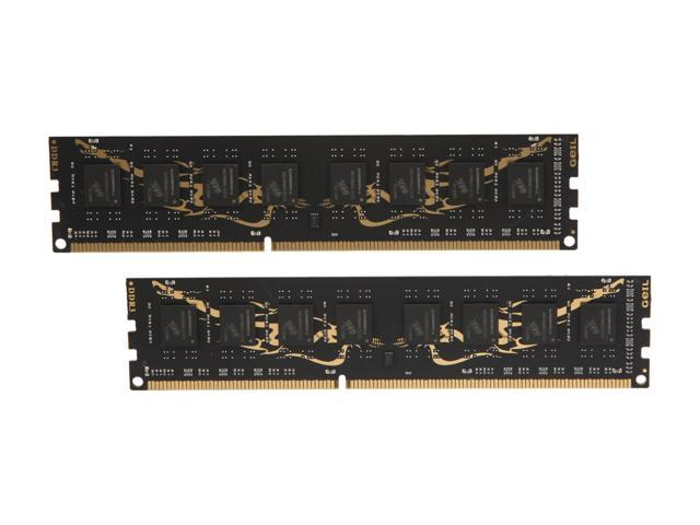 GeIL Black Dragon 16GB (2 x 8GB) 240-Pin DDR3 SDRAM DDR3 1333 (PC3 10660) Desktop Memory Model GB316GB1333C9DC