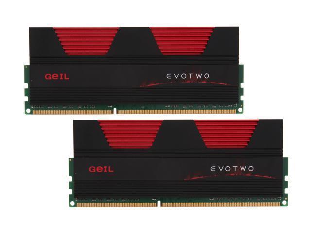 GeIL Evo Two 16GB (2 x 8GB) 240-Pin DDR3 SDRAM DDR3 1600 (PC3 12800) Desktop Memory Model GET316GB1600C9DC