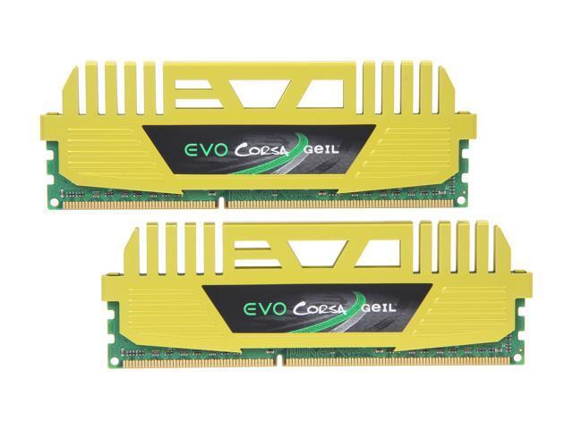 GeIL EVO CORSA Series 16GB (2 x 8GB) 240-Pin DDR3 SDRAM DDR3 2133 (PC3 17000) Desktop Memory Model GOC316GB2133C11DC