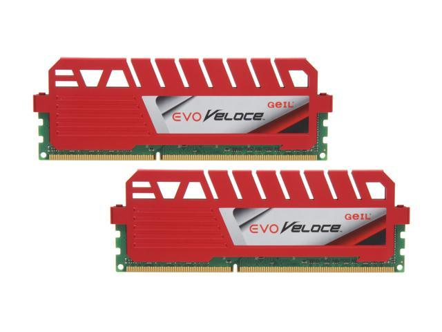 GeIL EVO Veloce Series 16GB (2 x 8GB) 240-Pin DDR3 SDRAM DDR3 2133 (PC3 17000) Desktop Memory Model GEV316GB2133C11DC