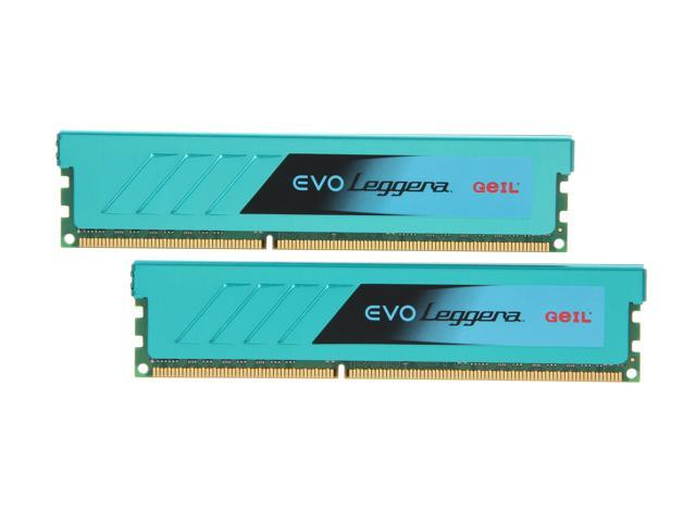 GeIL EVO Leggara Series 16GB (2 x 8GB) 240-Pin DDR3 SDRAM DDR3 2133 (PC3 17000) Desktop Memory Model GEL316GB2133C11DC