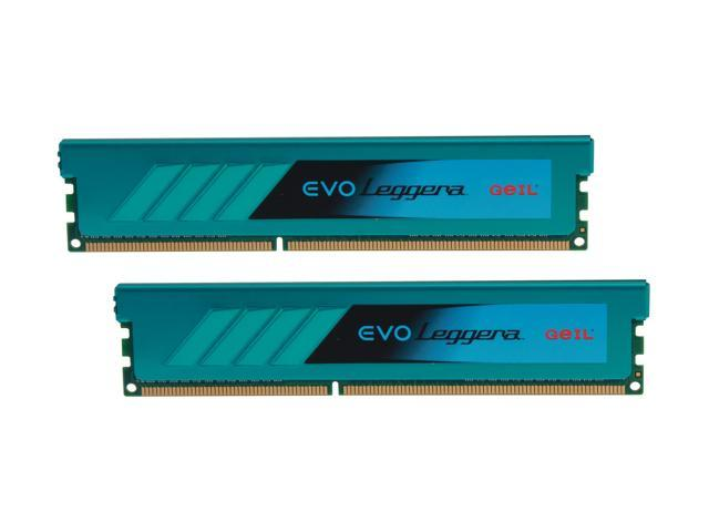 GeIL EVO Leggara Series 8GB (2 x 4GB) 240-Pin DDR3 SDRAM DDR3 2400 (PC3 19200) Desktop Memory Model GEL38GB2400C11ADC