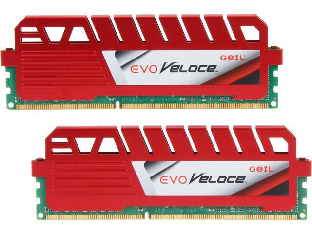 GeIL EVO VELOCE 16GB (2 x 8GB) 240-Pin DDR3 SDRAM DDR3 2133 (PC3 17000) Desktop Memory Model GEV316GB2133C10ADC
