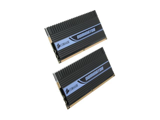 CORSAIR DOMINATOR 2GB (2 x 1GB) 240-Pin DDR2 SDRAM DDR2 1066 (PC2 8500) Dual Channel Kit Desktop Memory Model TWIN2X2048-8500C5D