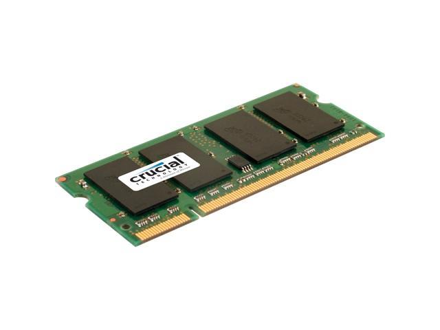 Crucial 1GB 200-Pin DDR SO-DIMM DDR 400 (PC 3200) Laptop Memory Model CT12864X40B