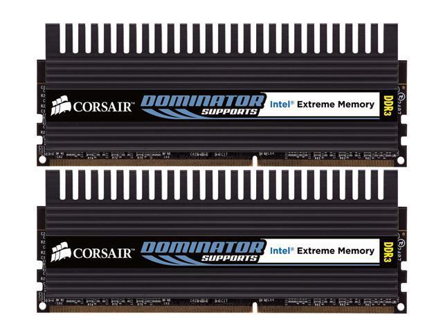 CORSAIR 2GB (2 x 1GB) 240-Pin DDR3 SDRAM DDR3 1800 (PC3 14400) Dual Channel Kit Desktop Memory Model TWIN3X20481800C7DFIN