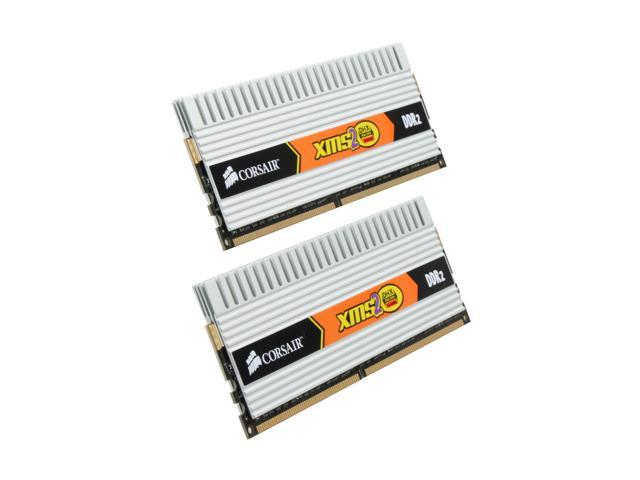 CORSAIR XMS2 DHX 4GB (2 x 2GB) 240-Pin DDR2 SDRAM DDR2 800 (PC2 6400) Dual Channel Kit Desktop Memory Model TWIN2X4096-6400C4DHX