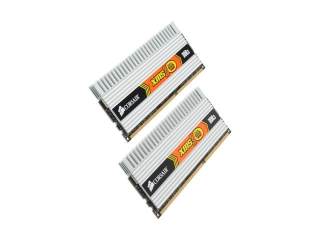 CORSAIR XMS3 DHX 4GB (2 x 2GB) 240-Pin DDR3 SDRAM DDR3 1600 (PC3 12800) Dual Channel Kit Desktop Memory Model TW3X4G1600C9DHX