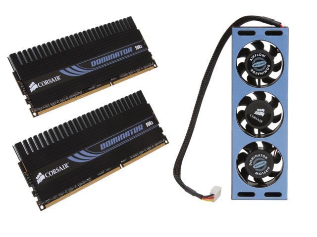 CORSAIR DOMINATOR 4GB (2 x 2GB) 240-Pin DDR3 SDRAM DDR3 2000 (PC3 16000) Dual Channel Kit Desktop Memory Model TW3X4G2000C9DF